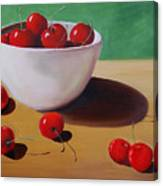 Cherries Overboard Canvas Print