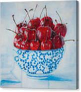 Cherrismatic Bowl Canvas Print