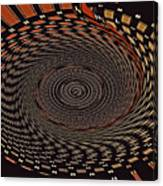 Cherry Basket Weaving Abstract Canvas Print