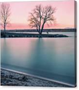 Cherry Creek Sunrise Canvas Print