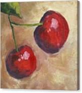 Cherry Duo Canvas Print