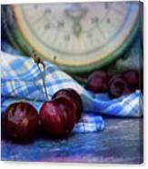 Cherry Love Canvas Print