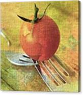 Cherry On Top Canvas Print