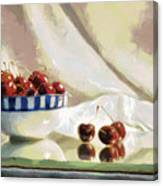 Cherry Still Life Canvas Print