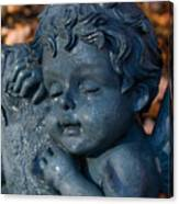 Cherub Sleeping Canvas Print