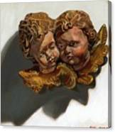 Cherubs Canvas Print