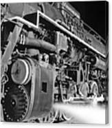 Chesapeake And Ohio Steam Engine Canvas Print
