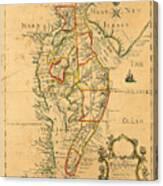Chesapeake Bay 1786 Canvas Print