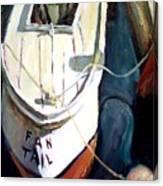 Chesapeake Boat Canvas Print