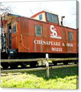 Chesapeake -ohio Rr Canvas Print