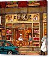 Cheskies Hamishe Bakery Canvas Print