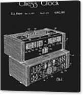 Chess Clock Patent Canvas Print