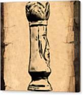 Chess King Canvas Print
