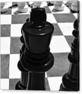 Chess Pano Canvas Print