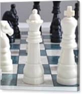 Chess Canvas Print