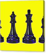 Chessmen Canvas Print