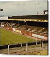 Chester - Sealand Road - Main Stand 1 - 1969 Canvas Print
