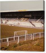 Chester - Sealand Road - Main Stand 2 - 1979 Canvas Print
