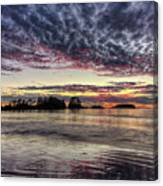 Chesterman Beach Sunset Canvas Print