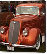 Chevrolet 1936 Canvas Print