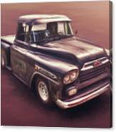 Chevrolet Apache Pickup Canvas Print