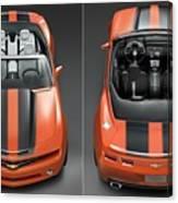Chevrolet Camaro Convertible Concept 5  Canvas Print