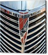 Chevrolet Chrome Canvas Print