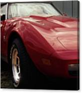 Chevrolet Corvette 1977 Canvas Print