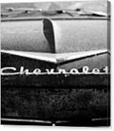 Chevrolet Hood 1 Canvas Print