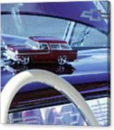 Chevrolet Nomad Toy Car Canvas Print