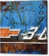 Chevy 3.0 Photomontage Canvas Print