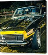 Chevy Camaro Canvas Print