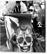 Chevy Decor Day Of Dead Bw Canvas Print