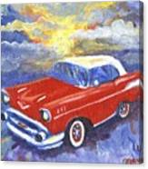 Chevy Dreams Canvas Print