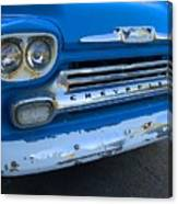 Chevy Grill Canvas Print