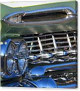 Chevy Low And Slow Canvas Print