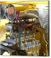 Chevy Motor Canvas Print