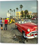 Chevy On The Prom  Canvas Print