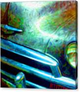 1953 Bel Air Chevy Project 2 Canvas Print