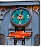 Chevy Times Square Clock Canvas Print