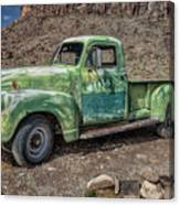 Chevy Truck Route 66 Canvas Print