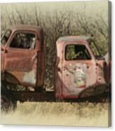 Chevy Vs Chevy Canvas Print