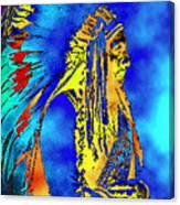 Cheyenne Chief Canvas Print