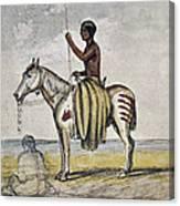 Cheyenne Warrior, 1845 Canvas Print