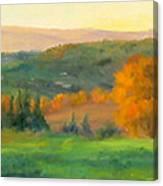 Chianti Glow Canvas Print