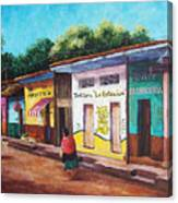 Chiapas Neighborhood Canvas Print