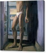 Chiaroscuro Contrapusto Tropicana Canvas Print