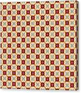 Chic Seamless Tile Pattern Canvas Print