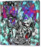 Chic Skull Canvas Print