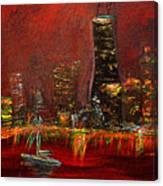 Chicago Acid Trip Canvas Print